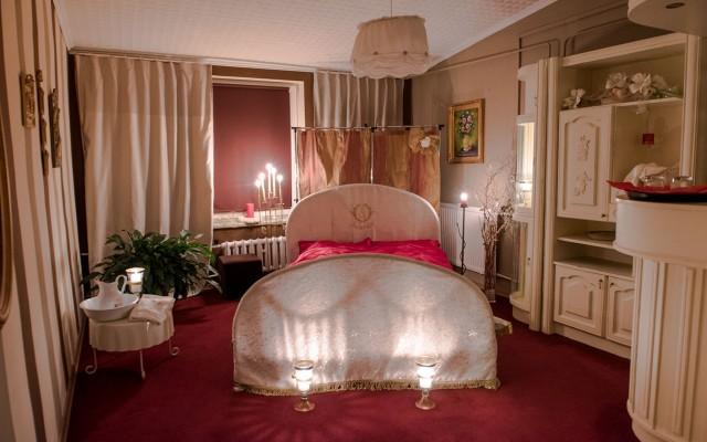 sypialnia dla pary młodej